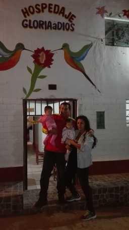 hospedaje Gloria a Dios y Huerto Picuya  14-07-2017