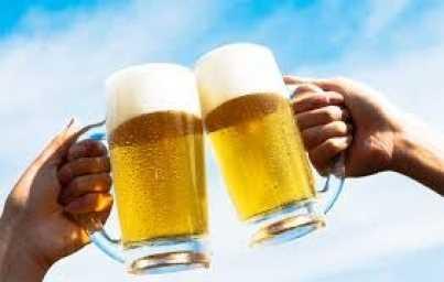 Cerveza.