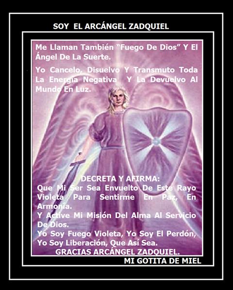 TRASMUTA EL ANGEL ZAQUIEL