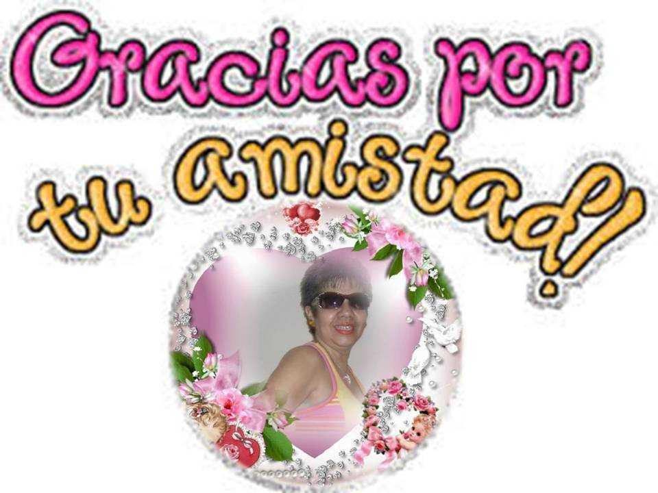 GRACIAS POR TU AMISTAD 1