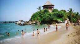 Playas colombianas en el caribe 04-09-2018