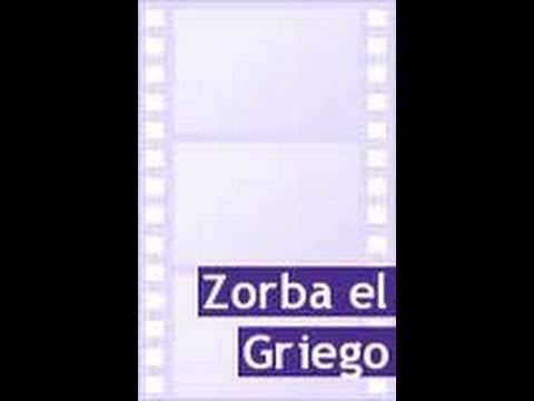 ZORBA EL GRIEGO - INSTRUMENTAL ORIGINAL