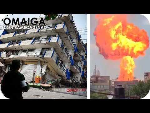 INCREIBLE RECOPILACION DE VIDEOS DEL TERREMOTO EN MEXICO 19 DE SEPTIEMBRE 2017 - ASI SE VIVIO