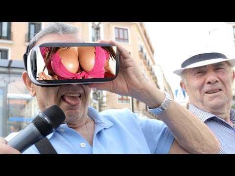 ¿Qué haría tu abuelo si viera un vídeo picante? - BROMA