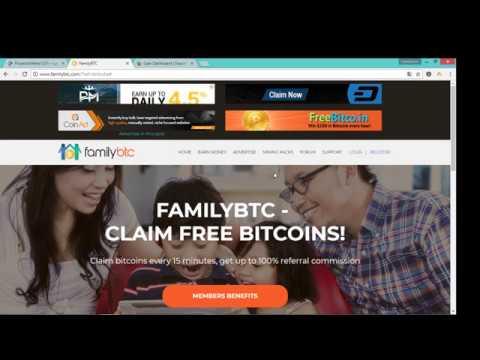 FAMILIY BTC, PTC PARA GANAR BITCOIN GRATIS