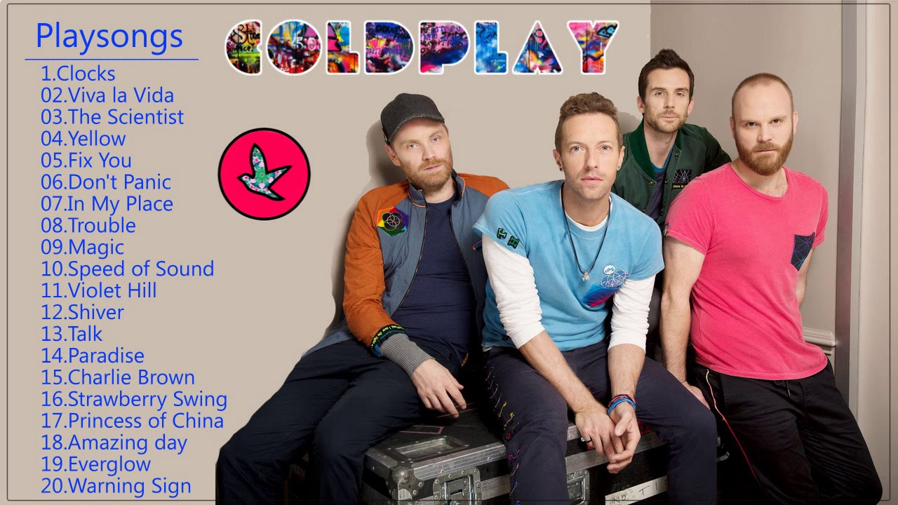 Coldplay Greatest Hits - Best Coldplay Hits Playlist 2018 - Coldplay Full Album Live
