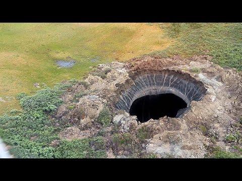 El Misterio del Cráter que Llega al Fondo de la Tierra