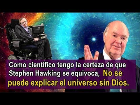 El Científico Cristiano que Refutó al Ateo Stephen Hawking