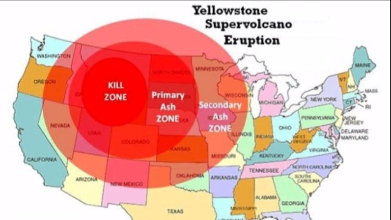 ¡¡EEUU Planea!! Una «EVACUACIÓN MASIVA» Por ¡¡Erupción Del YELLOWSTONE!!