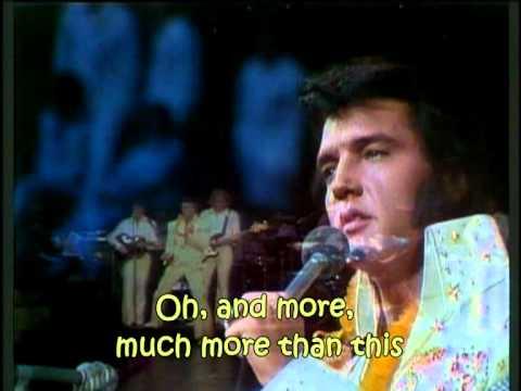 Elvis Presley - My Way (with lyrics)