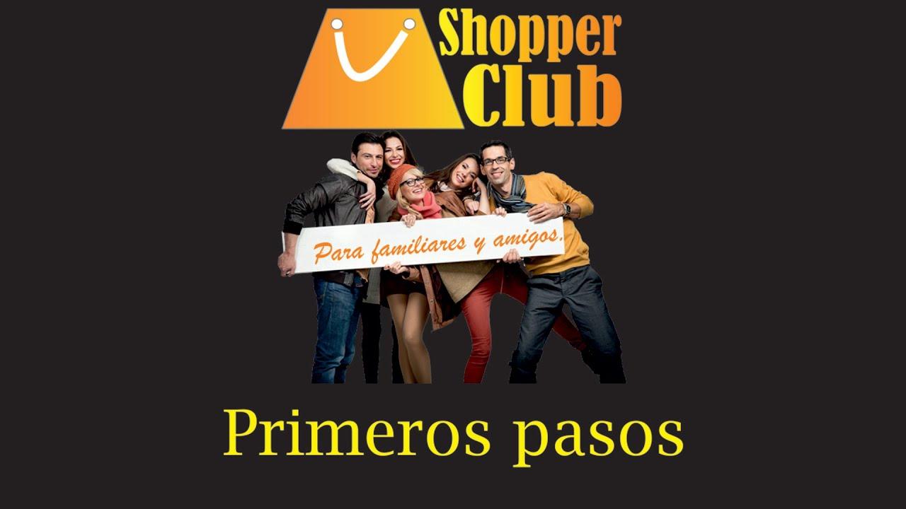 Primeros pasos en ShopperClub